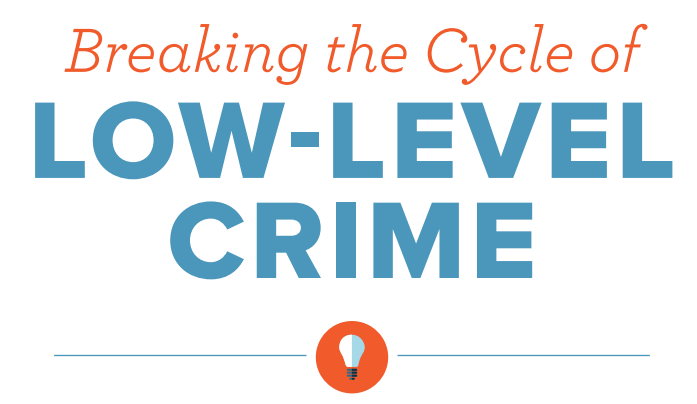Brief: Breaking the Cycle of Low Level Crime