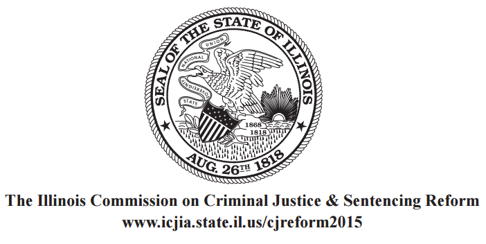 Report: Illinois State Commission on Criminal Justice and Sentencing Reform Final Report: Part I